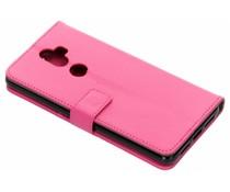 TPU Bookcase Rosa für Alcatel 3V