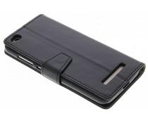 Stilvolles Booklet Schwarz Xiaomi Redmi 4A