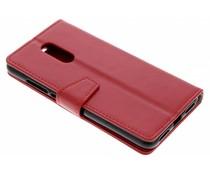 Stilvolles Booklet Rot Xiaomi Redmi 5