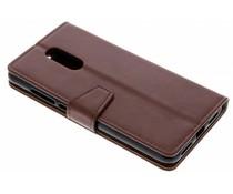Stilvolles Booklet Braun Xiaomi Redmi 5