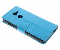 Stilvolles Booklet Blau Alcatel A3