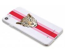 My Jewellery Leopard Red Design Soft Case iPhone 8 / 7
