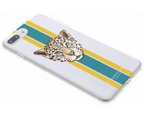 My Jewellery Leopard Green Design Soft Case iPhone 8 Plus / 7 Plus