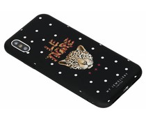 My Jewellery Le Tigre Design Soft Case iPhone Xs / X