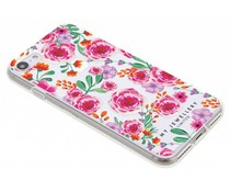 My Jewellery Pink Flowers Design Soft Case iPhone 8 / 7