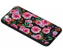 My Jewellery Pink Flowers Design Soft Case iPhone 6(s) Plus