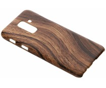 Holz-Design Hardcase-Hülle für Samsung Galaxy A6 Plus (2018)