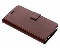 Valenta Booklet Leather Braun für das Huawei P20 Lite