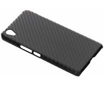 Carbon Look Hardcase-Hülle Schwarze für OnePlus X
