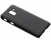 Carbon Look Hardcase-Hülle Schwarz für Samsung Galaxy J6