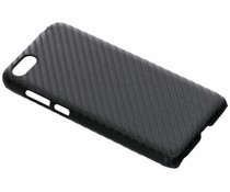 Carbon Look Hardcase-Hülle Schwarz für Huawei Y5 (2018)