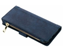 Luxuriöse Portemonnaie-Hülle Blau Galaxy A6 (2018)