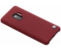 BMW Hard Case aus Silikon Rot für das Samsung Galaxy S9