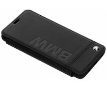 BMW Real Leather Booktype Case Schwarz Samsung Galaxy S9 Plus