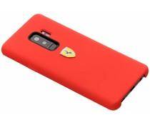 Ferrari Silikon-Case Rot für das Samsung Galaxy S9 Plus