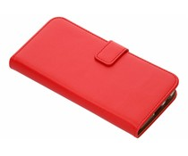 Selencia Luxus TPU Bookcase Rot für Samsung Galaxy J6