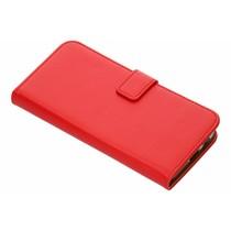 Luxus TPU Bookcase Rot für Samsung Galaxy J6