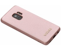 Guess iriDescent Hardcase Roségold Samsung Galaxy S9
