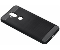 Brushed TPU Case Schwarz Asus ZenFone 5 Lite