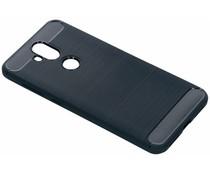 Brushed TPU Case Dunkelblau Asus ZenFone 5 Lite