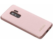 Guess iriDescent Hardcase Roségold Samsung Galaxy S9 Plus