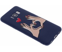 Sommer-Design Silikonhülle für das Samsung Galaxy S8