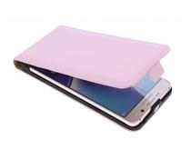 Selencia Luxus Flipcase Puderrosa für Samsung Galaxy Note 5