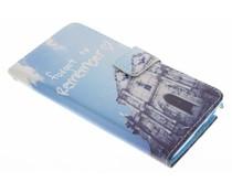 Design TPU Booktype Hülle für das Samsung Galaxy Note 3