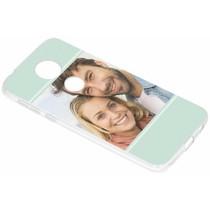 Gestalten Sie Ihre eigene Motorola Moto E5 Plus Gel Hülle