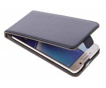 Selencia Luxus Leder Flipcase Schwarz für Samsung Galaxy Note 5