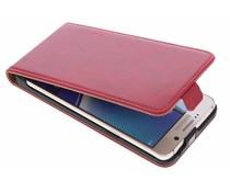Selencia Luxus Leder Flipcase Rot für Samsung Galaxy Note 5