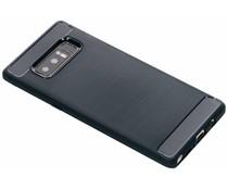 Brushed TPU Case Dunkelblau Samsung Galaxy Note 8