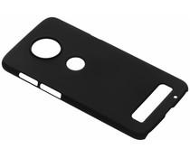 Unifarbene Hardcase-Hülle Schwarz für Motorola Moto Z3 Play