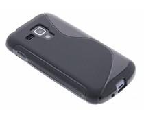 S-Line TPU Hülle Schwarz für Galaxy S Duos / Trend (Plus)