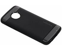 Spigen Rugged Armor Case Schwarz für das Motorola Moto G6 Plus