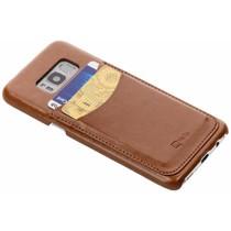 Be Hello Card Case Braun für das Samsung Galaxy S8