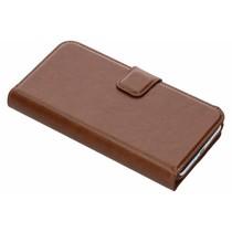 Be Hello 2 in 1 Wallet Case Braun für das iPhone Xs / X