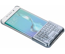 Samsung Keyboard Cover Blau für das Galaxy S6 Edge Plus