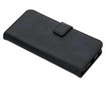 Luxus Leder Booktype Hülle Dunkelblau Motorola Moto G6 Plus