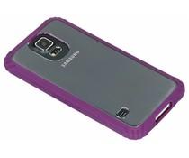 Griffin Survivor Clear Case Lila für Samsung Galaxy S5 (Plus) / Neo