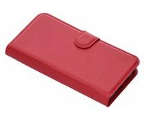 Litchi Buchtyp-Hülle Rot für das HTC One A9