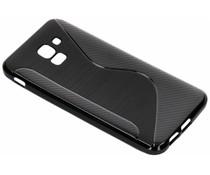 S-Line TPU Hülle Schwarz für das Samsung Galaxy J6