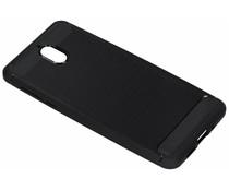 Brushed TPU Case Schwarz für das Nokia 3.1