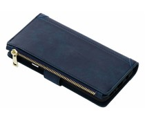 Luxuriöse Portemonnaie-Hülle Blau Samsung Galaxy S9 Plus