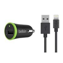 Belkin Boost↑Up Kfz-Ladegerät 2,4A + Lightning-zu-USB-kabel
