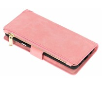 Luxuriöse Portemonnaie-Hülle Rosa Samsung Galaxy S9 Plus