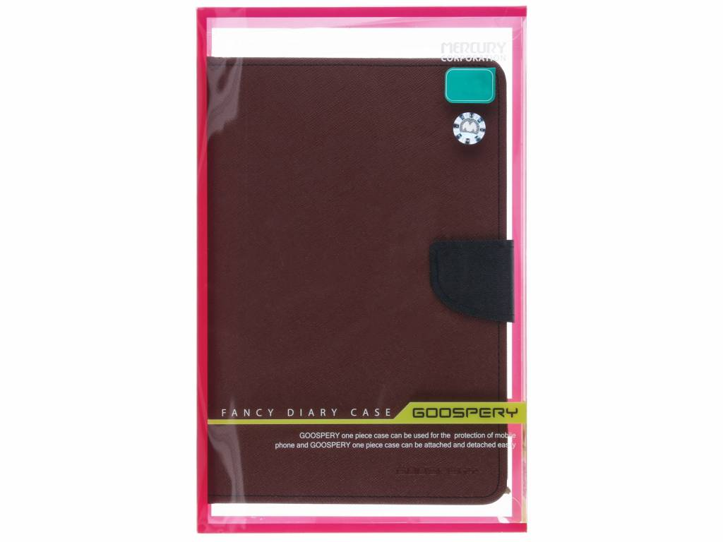 Mercury Goospery Canvas Diary Case Fr Das Ipad Air 2 Xiaomi Note Red Hlle