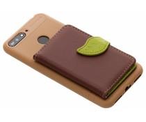 TPU Case mit Blatt-Design Braun Honor 7A