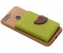 TPU Case mit Blatt-Design Grün Honor 7A