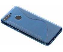 S-Line TPU Hülle Blau für das Honor 7A